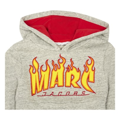 Little Marc Jacobs Flames Hoodie-listing