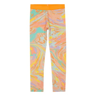 Stella McCartney Kids Tula Marble Organic Cotton Leggings-listing