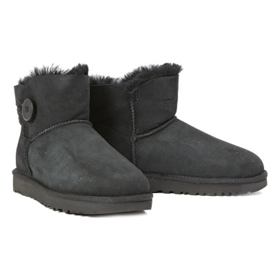 Ugg Botas Forradas Ante Mini Bailey Button II-listing