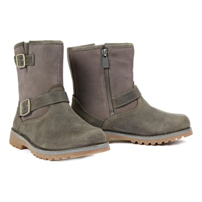 Ugg Harwell Buckeled Suede Boots-listing
