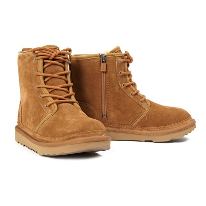 Ugg Harkley Suede Lace-Up Boots-listing