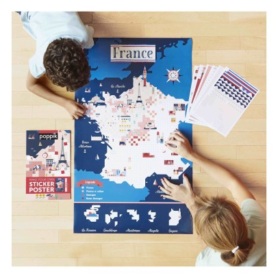 Poppik Poster sticker France-listing