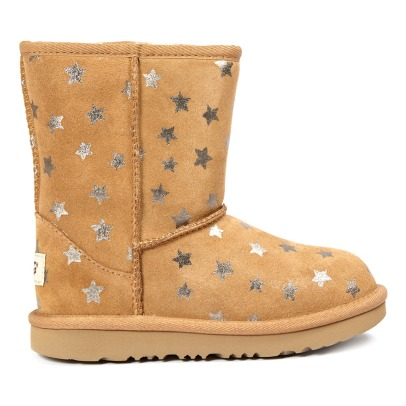 Ugg Classic Short II Star Fur Lined Suede Boots-listing