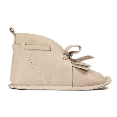 Birds of Nature Boots Cuir Franges Desert-listing
