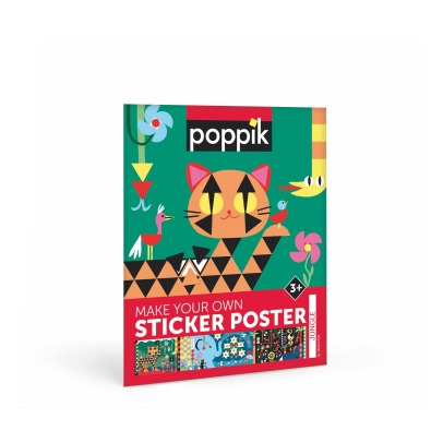 Poppik Poster sticker Jungle-listing
