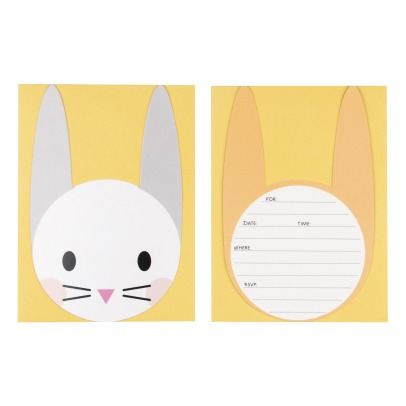 My Little Day Rabbit Paper Invitations, Envelopes and Stickers - Set of 8-listing