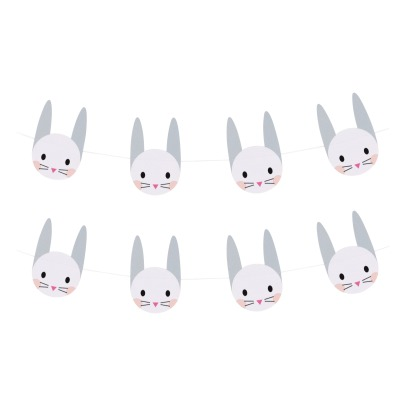 My Little Day Rabbit Paper Garland - 3 metres-listing