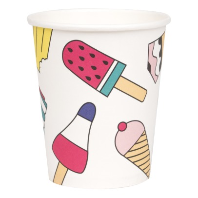 My Little Day Ice Cream Paper Cups - Set of 8-listing