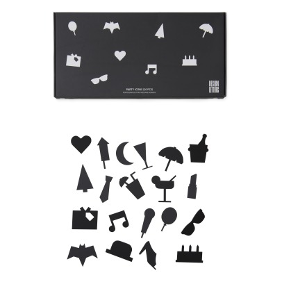 Design Letters Message Board Party Icons - Set of 20-listing