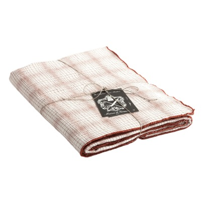 Maison de vacances Bourdon Linen Finish Square Table Cloth-listing