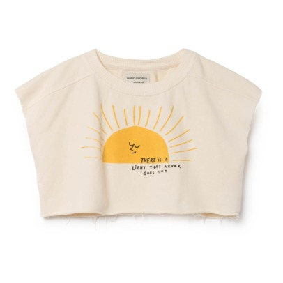 Bobo Choses Organic Cotton Sunset Cropped Sweatshirt-listing