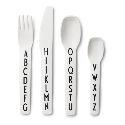 Design Letters Melamine Cutlery-listing