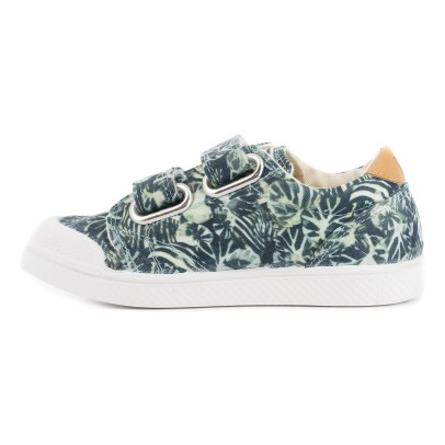 10 IS Palm Tree Velcro Low Top Trainers-listing
