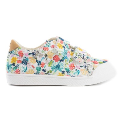 10 IS Flower Velcro Low Top Trainers-listing