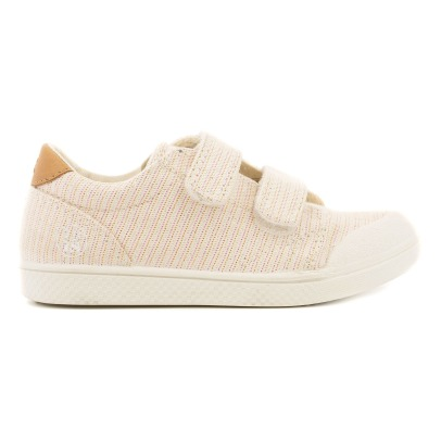 10 IS Sneakers con velcro Lurex-listing