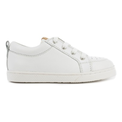 10 IS Perforated Lace-Up Zipped Trainers-listing