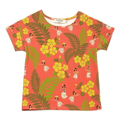 NICE THINGS MINI T-shirt a fiori Hawaiennes-listing