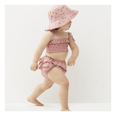 Oeuf NYC Organic Pima Cotton Ruffled Floral Bloomers-listing