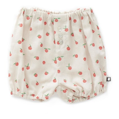 Oeuf NYC Peach Linen Bloomers-listing