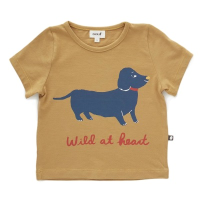 Oeuf NYC Dog Organic Pima Cotton T-Shirt-listing