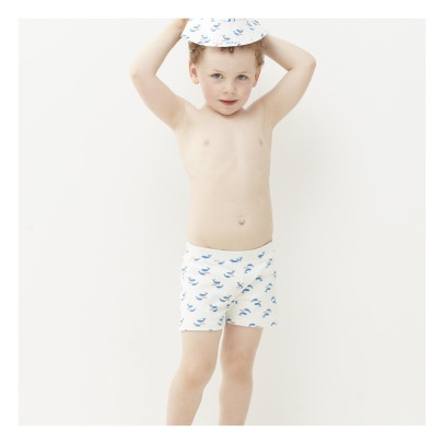 Oeuf NYC Whale Swimming Trunks-listing