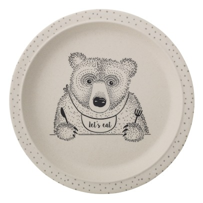 Bloomingville Kids Assiette Alex en bambou-product