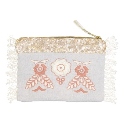 Louise Misha Ziggy Embroidered Pouch - Women's Collection-listing