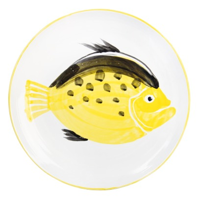 Klevering Anouk Earthenware Fish Dish-listing