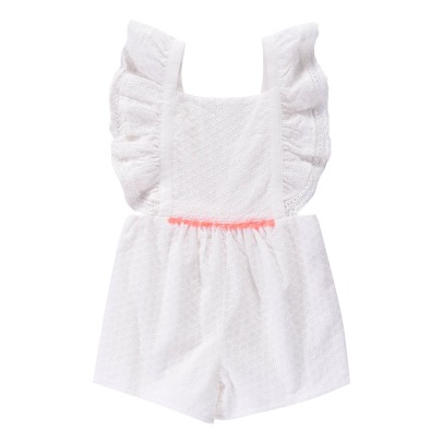 Louise Misha Honolulu Embroidered Playsuit-listing