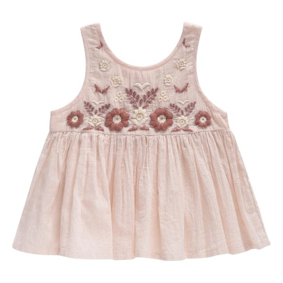Louise Misha Maria Embroidered Flower Top-listing