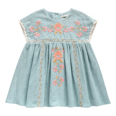 Louise Misha Oleste Embroidered Dress-listing