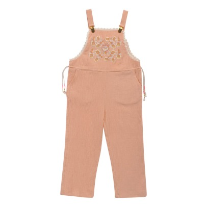 Louise Misha Nany Embroidered Plastron Dungarees-listing