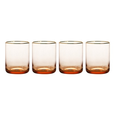 Klevering Tinted Water Glasses - Set of 4-listing