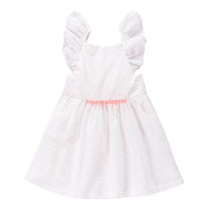 Louise Misha Minaksi Embroidered Pinafore Dress-listing