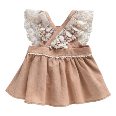 Louise Misha Akraka Lace Embroidered Flower Cross Top-listing