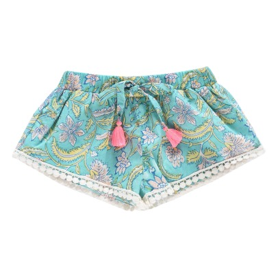 Louise Misha Nutsy Floral Shorts-listing