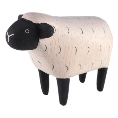 T-Lab Sheep Wooden Figurine-listing