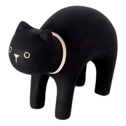 T-Lab Cat Wooden Figurine-listing