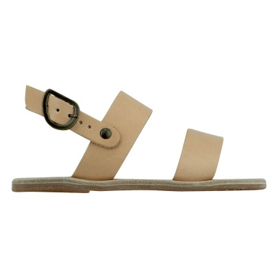 Ancient Greek Sandals Sandales Cuir Little Clio-listing