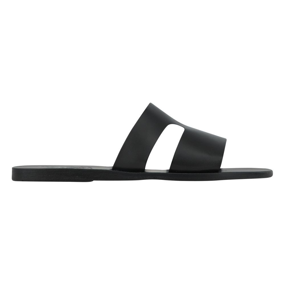 Sandales En Cuir à Clous Niki - NoirAncient Greek Sandals 7LSlgu9Ogq
