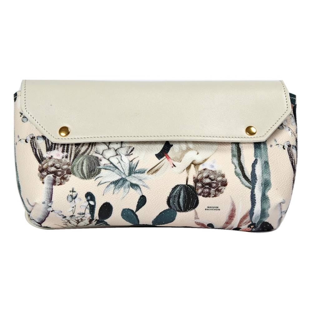 Sale - Maxi Tropical Zip-Up Pouch - Maison Baluchon Maison Baluchon