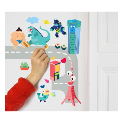 Omy Tokyo Wall Stickers - 100 Stickers-listing