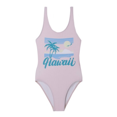 "Finger in the nose Olivia ""Hawaii"" Cross Back Swimsuit-listing"