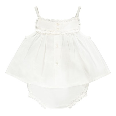 Bonton Nougat Embroidered Lace Top + Bloomers-listing