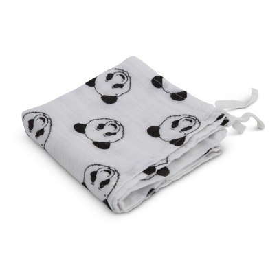 Moumout Panda Cotton Muslin Swaddle 120x120cm-product