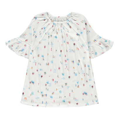 Bellerose Aurel Ruffled Print T-Shirt-product