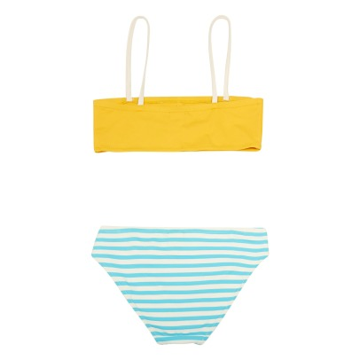 Bonton Adella Buttoned Tricolour 2 Piece Swimsuit-listing