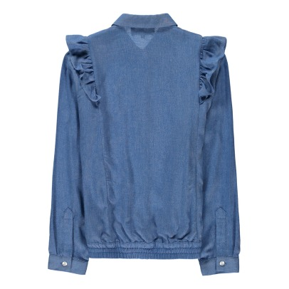 Little Remix Alia Pleated Shirt-listing