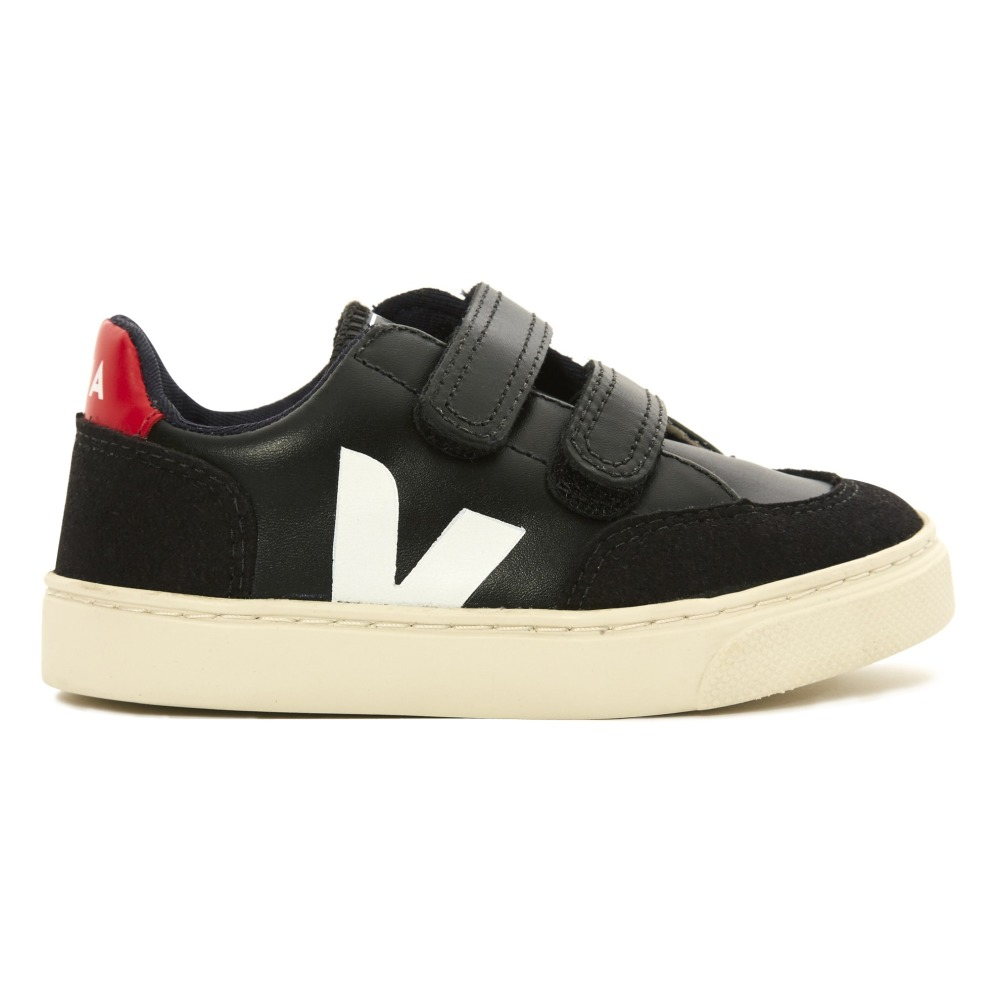 Cheap Sale Store Buy For Sale V-12 Plain Velcro Cuir and Suede Trainers Veja 64baRekM0k