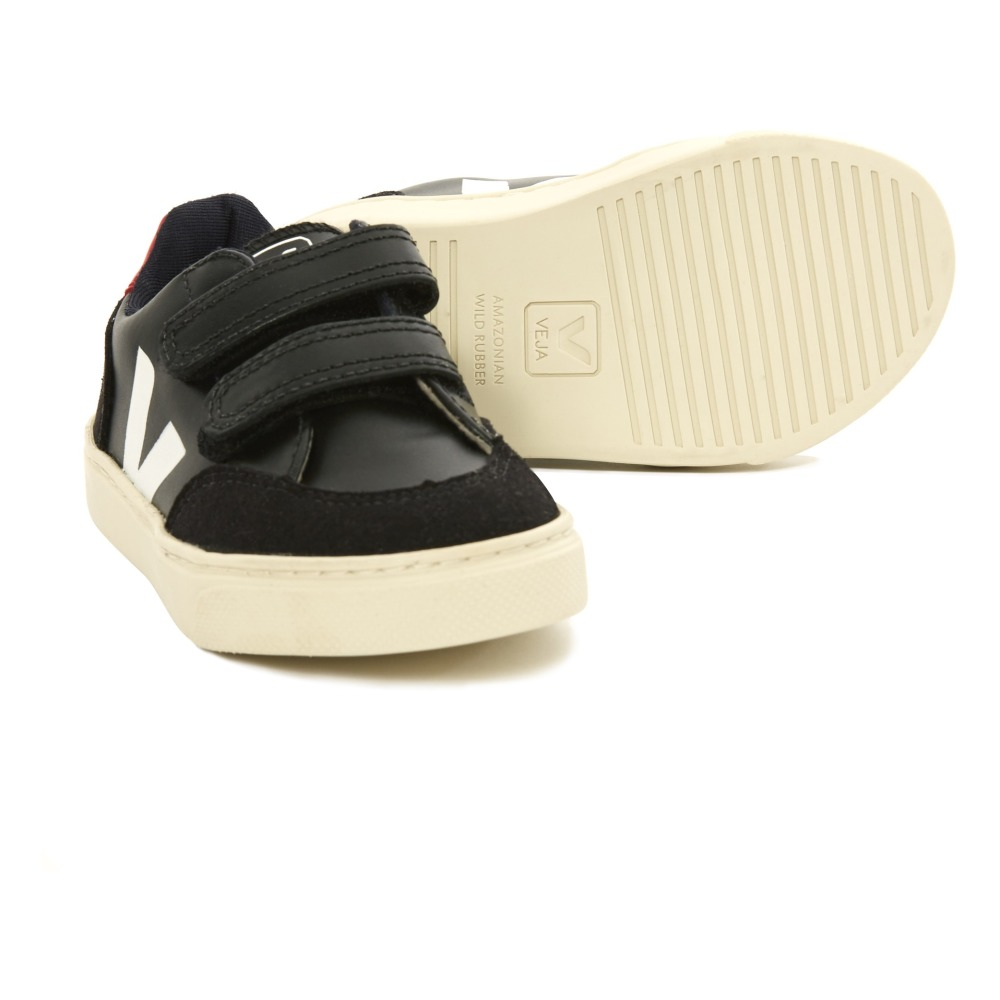 V-12 Plain Velcro Cuir and Suede Trainers Veja 8QMEJyfDli